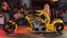 100 biker babes looking sexy on two wheels. Sturgis Motorcycle Rally, Bike Rally, Sturgis Sd, Biker Rallies, Motorcycle Rallies, Sturgis South Dakota, Custom Street Bikes, Custom Motorcycles, Biker Gear