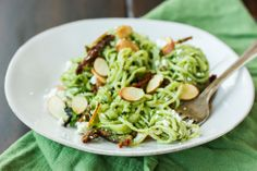 The Bojon Gourmet: Nettle Pesto Pasta with Sun-Dried Tomatoes