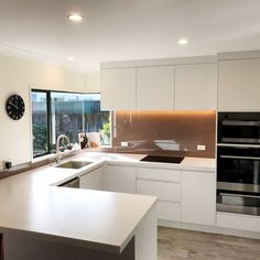 """Mastercraft Kitchens NZ on Instagram: """"Having trouble visualising a new kitchen in your home? Get inspired with these after/before photos of this reno makeover recently completed…"""" Kitchen Reno, New Kitchen, Visualising, Kitchens, Inspired, Table, Photos, Inspiration, Furniture"""