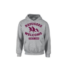 REFUGEES WELCOME Pullover size:S/M/L/XL(US) color:black/hether Gray price:¥3,500(送料込) http://danmakutai.theshop.jp