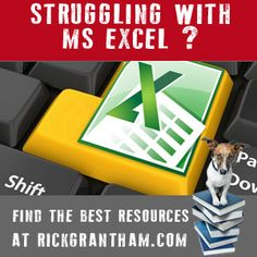 Excel Help = big list of sites with excel training