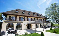 Ermitage de Corton Hotel outside of Beanue