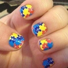 www.electranails.jamberrynails.net Autism Awareness  Each set of Autism wraps and Jamberry donates $2