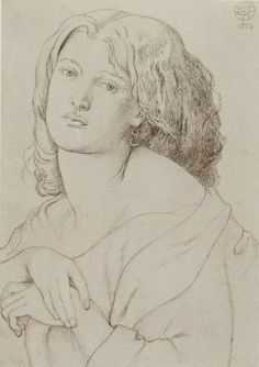 Fanny Cornforth by Dante Gabriel Rossetti, 1869