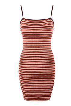 5905ed5ad919 Striped Bodycon Mini Dress - Topshop USA Bodycon