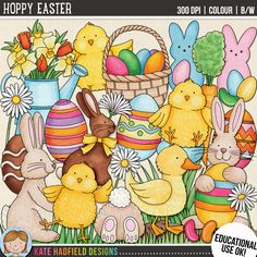 HOPPY EASTER (Educational Use version) by Kate Hadfield
