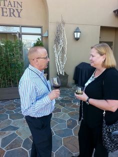Intuit's Rich Walker and Michelle Long catch up #IntuitSummit