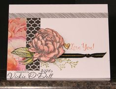 HeARTful Stamper: Beloved Bouquet - January Stamp of the Month