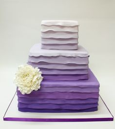 beautiful purple cake