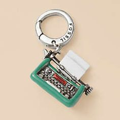 Fossil charm! It's a typewriter ahhhh!