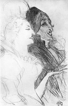Henri de Toulouse-Lautrec Drawings 025