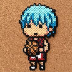 Kuroko's Basketball perler beads by tsubasa.yamashita fuse beads hama beads nabbi beads nano beads perler beads アイロンビーズ 拼豆 拼拼豆豆