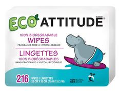 Shop for Attitude Eco-Baby Biodegradable Wipes 72 ea, 3 Pack from Baby Wipes, Baby Wash Cloths. Browse other items form Attitude WellBeing Baby Wipes Travel Case, Baby Wipe Case, Wipes Case, Baby Skin Care, Baby Care, Baby Wipe Holder, Attitude, Baby Wipes Container, Skin Care Home Remedies