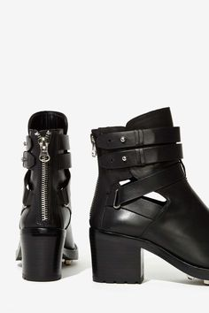 Leather Boot | Black