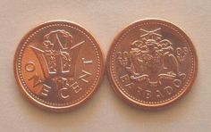 1-Cent-Coin-Of-Barbados Mine is from 1973