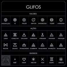 Significado glifos triangulares - ZonaTattoos
