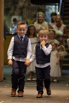 page boys Old Fashioned Romantic Wedding http://baughanphotography.co.uk/