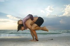 Many dads around the world are missing out on yoga's benefits with each day that passes. Why do they choose to miss out? There are many misconceptions about yoga and many men believe that yoga is o. Yoga Images, Yoga Photos, Yoga Inspiration, Family Yoga, Crow Pose, Yoga Posen, Yoga Journal, Beautiful Yoga, Yoga For Kids