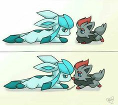 Glaceon and Z orua