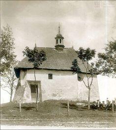 kościółka św. Benedykta.  Pikniki w tym miejscu  przed z górą stu laty