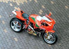 Ducati MH 900E by La Bellezza