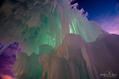 Silverthorne Ice Castles at Loon Mountain, NH