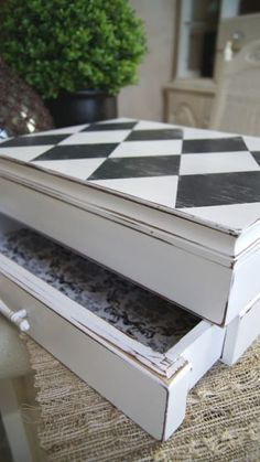 redo a silverware chest