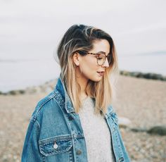Quiz: Which Zoella Trait Do You Share? Tigerbeat New Hair Cut zoella new haircut Hair Inspo, Hair Inspiration, Zoe Sugg, Oversized Denim Jacket, New Haircuts, Long Bob, Cute Hairstyles, Zoella Hairstyles, My Hair
