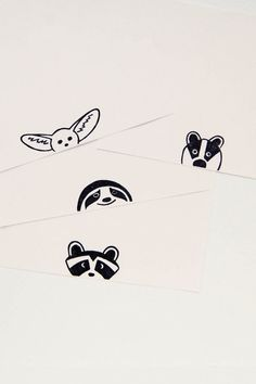 A small not mounted rubber stamp of a primitive simple peek-a-boo raccoon who looks at you with surprise from the paper edge. The stamp is caved from quality rubber by hand. The color of gum we use differs from piece to piece, so your stamp may be a little bit different from the image, but will retain the quality of the imprint. The stamp is sold in two variants: - unmounted and you will be able to use it with a clear acrylic block - mounted on wooden handle Image SIZE: 3.1 x 2 cm (1 7⁄32 by