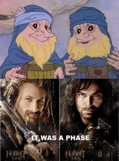 Fili and Kili... it's only funny if you watched the old-school cartoon