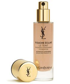 YSL Touche Eclat Radiant Touch - Make Up Concealer by Yves Saint Laurent. Buy the best selling top rated touch up instant highlighter pen to erase signs of fatigue and leave skin radiant. Yves Saint Laurent, Makeup Gift Sets, Ysl Beauty, French Beauty, Beauty Bar, Perfume, Best Foundation, Makeup Foundation, Glow Foundation