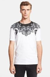 Just Cavalli Shoulder Print T-Shirt