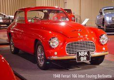 1948 Ferrari 166 Inter Touring Berlinetta
