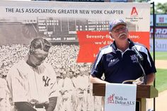 The incredible Sparky Lyle reading the famous Lou Gehrig Farewell Speech at the Somerset Walk in 2014!
