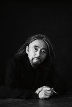 ohyescoolgreat:  Yohji Yamamoto in Paris (January 2013) by Paolo Roversi Interview, May 2013.