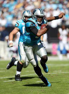Cam Newton. 30-15 win over the Rams. 10-20-13