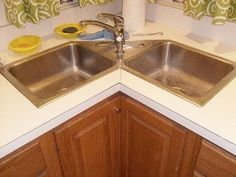 Find This Pin And More On Decor Ideas Designing A Corner Kitchen Sink