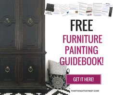 refinishing furniture Learn How To Paint Furniture. Thirty Eighth Street offers a FREE Furniture Painting Guide and FREE Furniture Tutorials. LOTS of Furniture Painting Techniques and Painted Furniture Projects! Fabulous Furniture Refinishing Tips! Distressed Furniture Painting, Painted Bedroom Furniture, Diy Pallet Furniture, Chalk Paint Furniture, Refurbished Furniture, Furniture Makeover, Furniture Refinishing, Furniture Projects, Dresser Makeovers