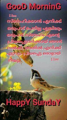 Malayalam Quotes, Morning Wish, Sunday, Pictures, Photos
