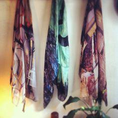 A sneak peak at Good & Co's new season scarves.