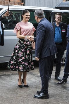 30 May 2017 - Princess Mary and Prince Frederik visit Stockholm (day 2) - top by Daisy Grace