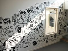Dribbble - Mural in60seconds by Lienke Raben