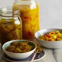 Bread-and-butter pickles [Linton Hopkins]
