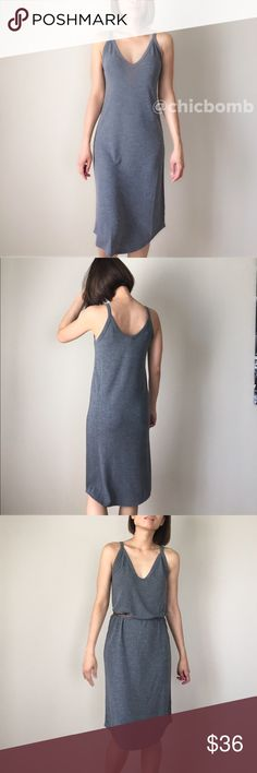 """Sexy basic midi slip dress Basic chic. This piece is a must have maxi midi slip dress for fall. Pair it with a belt or not.. Pair it with awhile sneakers. Best seller in NY. 62%poly blend 33%rayon 5%spandex. Size S: length 43"""", bust 17"""",w 16"""", size M: length 43"""", bust 18"""",w17"""". Size L length 44"""",b19"""",w18"""". All flat lay measurements. CHICBOMB Dresses Midi"""