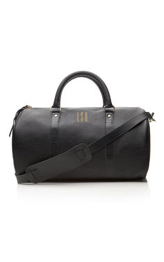 Clare Vivier Duffle Bag with monogram for @Lauren Santo Domingo