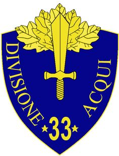 33rd Infantry Division Acqui - Wikipedia