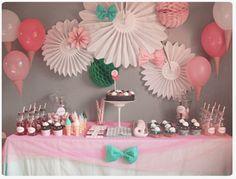 Sweet table d'anniversaire Ses 3 ans gourmands... Chez cette fille #watercolor…