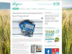 """Gewinnt 3 Mal """"Vegan to Go"""" von Attila Hildmann! Auf veganblog.de, dem Blog von PETA, könnt ihr noch bis27. November 2014 drei Mal """"Vegan to Go"""" von..."""