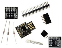 Digispark Starter Kit $14.95. Awesome little board, which works with the Arduino Progamming environment.
