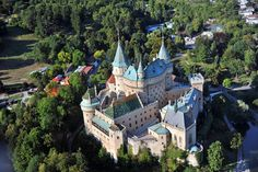 Bojnice, Bojnice Castle @Wikipedia